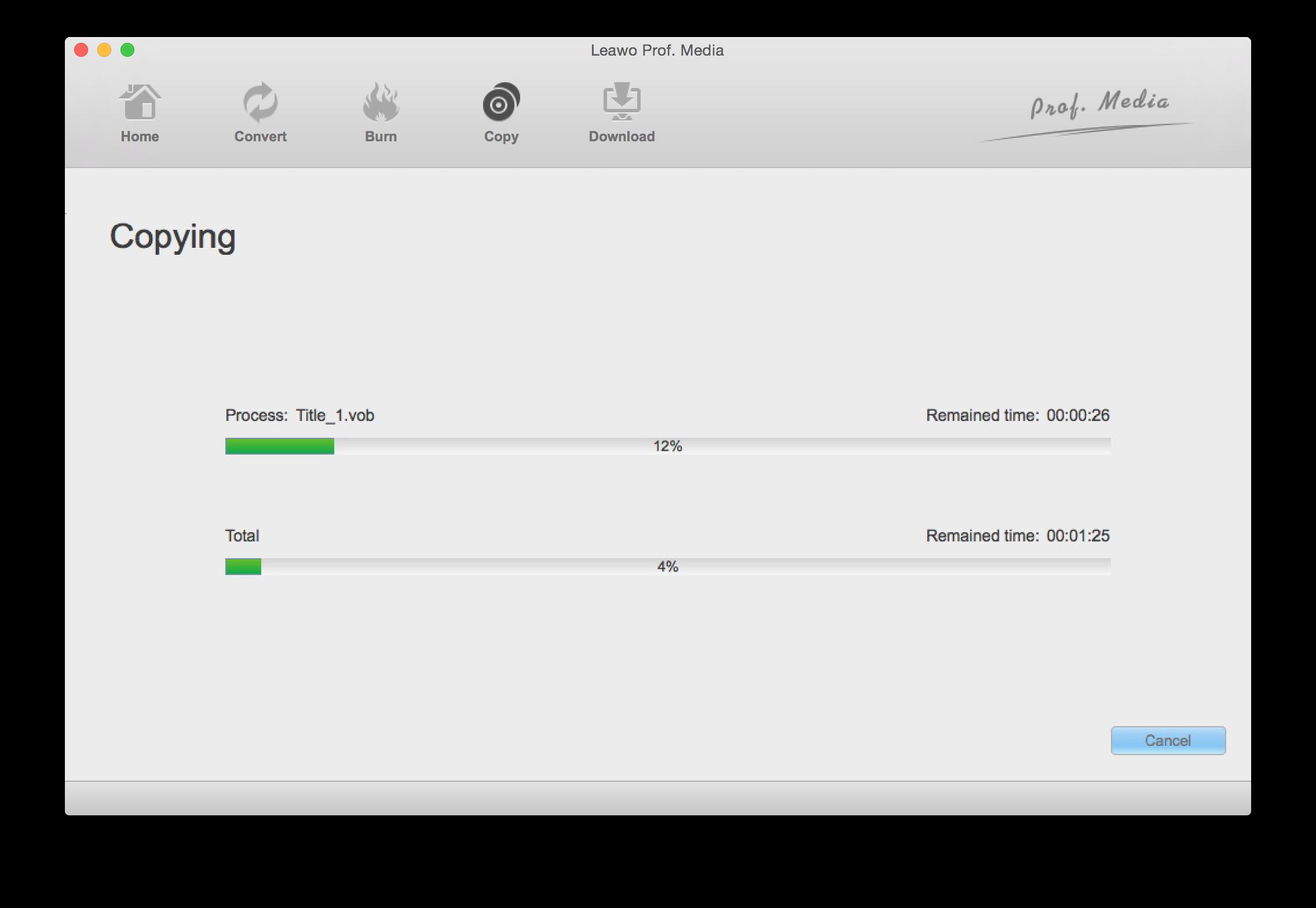 Leawo Blu-ray Copy for Mac - The best Blu-ray copying