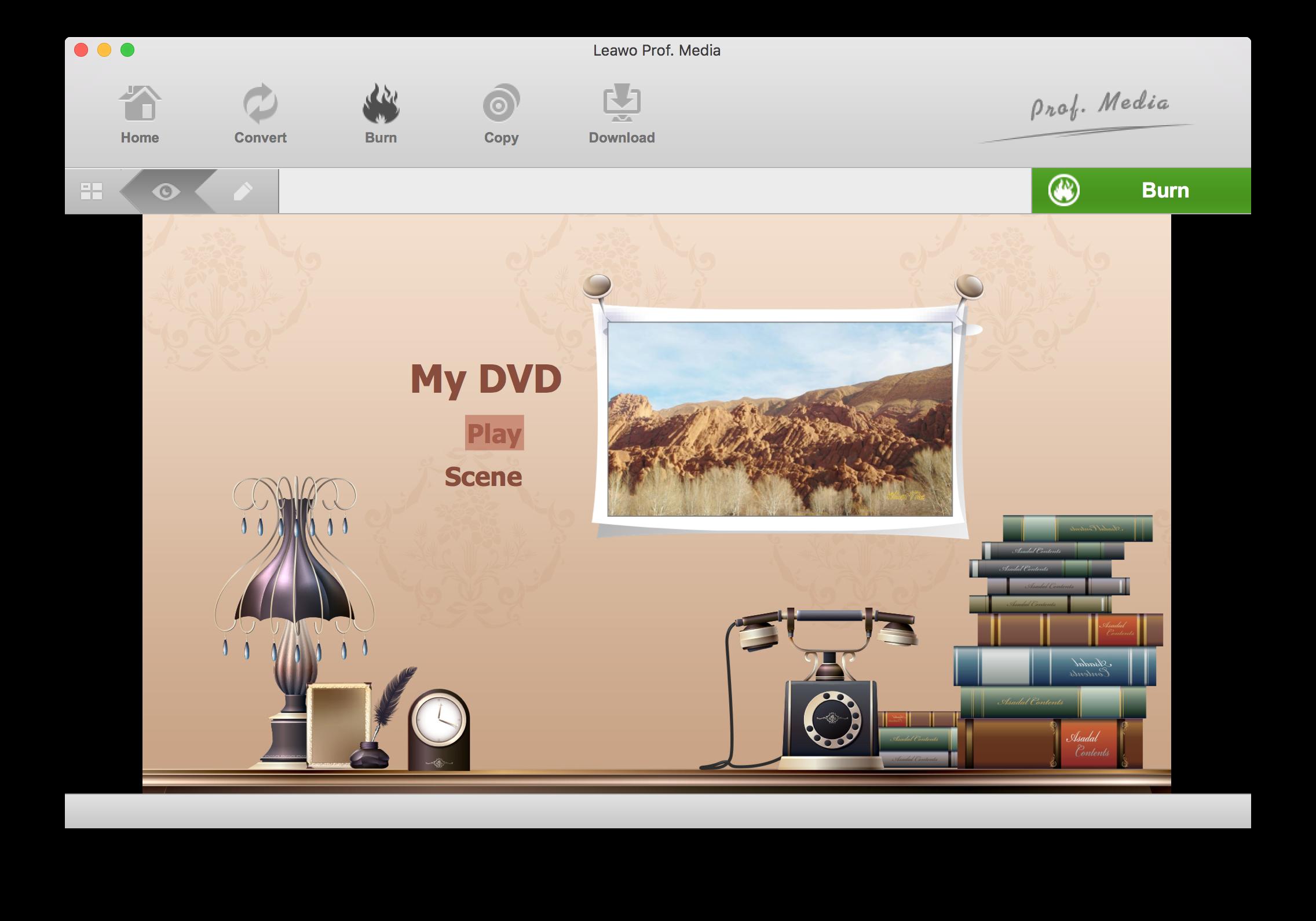 Leawo Blu-ray Creator for Mac —— Professional Blu-ray/DVD Burning