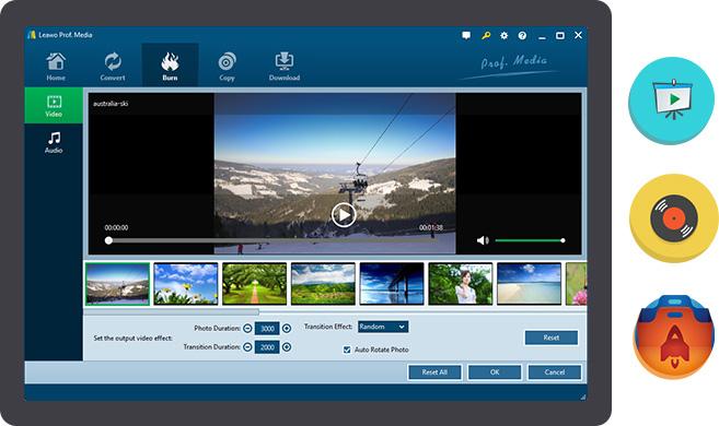 Leawo Blu-ray Creator - Ultimate Blu-ray DVD burner software