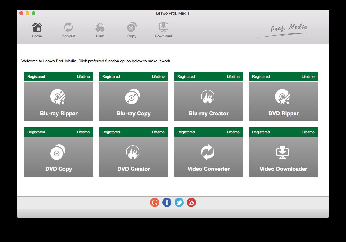 Launch DVD Copy on MacBook Pro