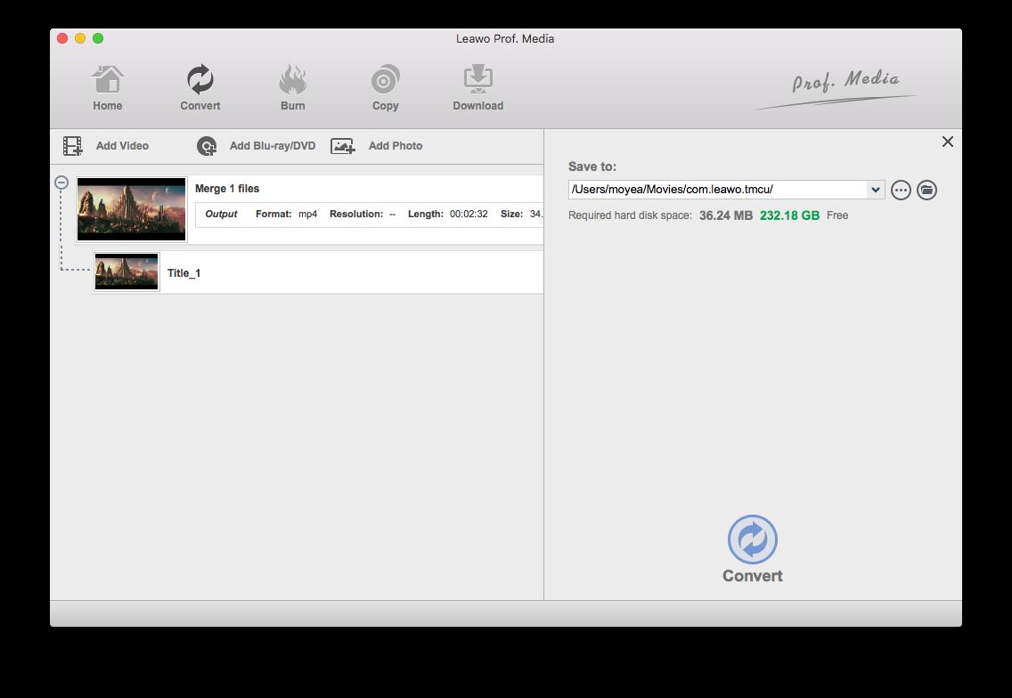 Start to rip DVD to MP3