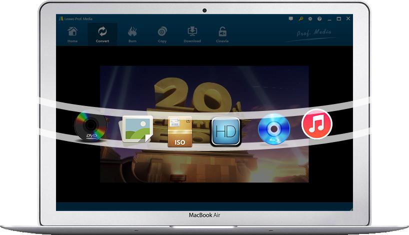 Leawo Prof  Media Ultra - ultimate video/audio DVD/Blu-ray