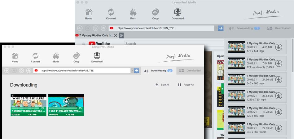 youtube downloader mac