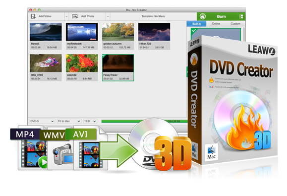 MOV to DVD Burner: How to Burn MOV to DVD Mac | Leawo
