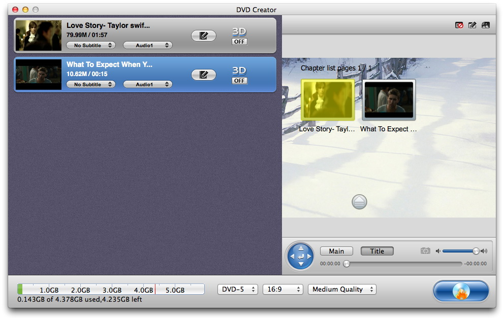 dvd-creator-mac-import-s