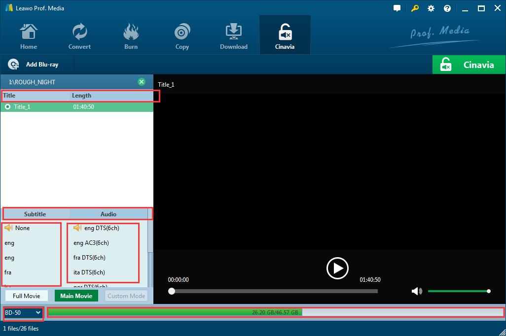 Select loading mode