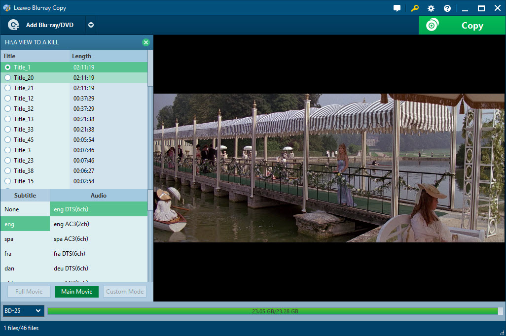 Top 2 Blu-ray Copy Software to Copy BD50 to BD25 Disc