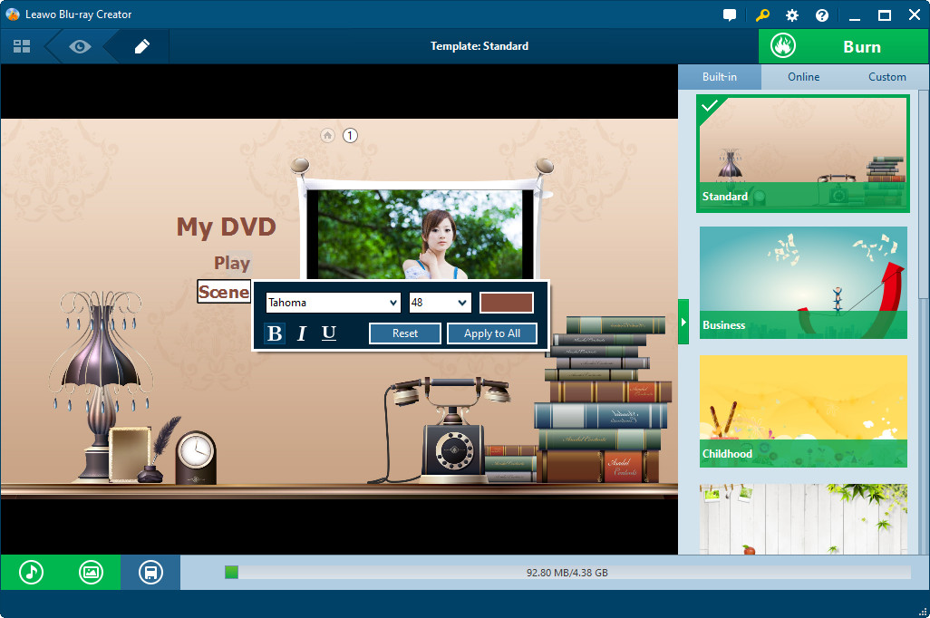 leawo dvd creator user guide