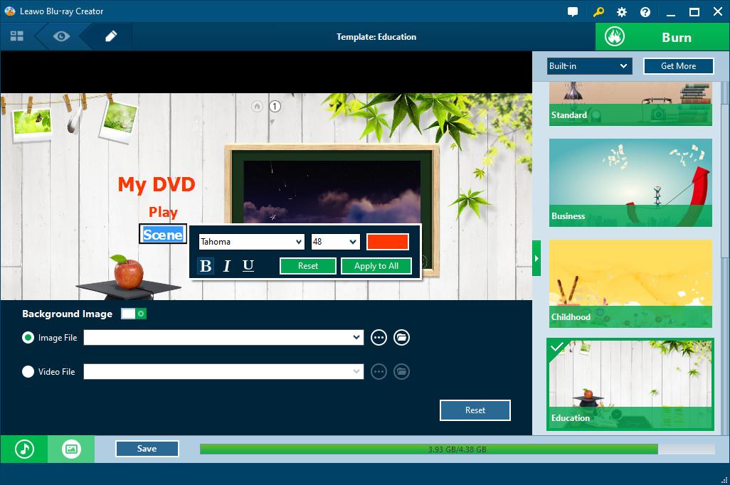 Программы для меню на dvd