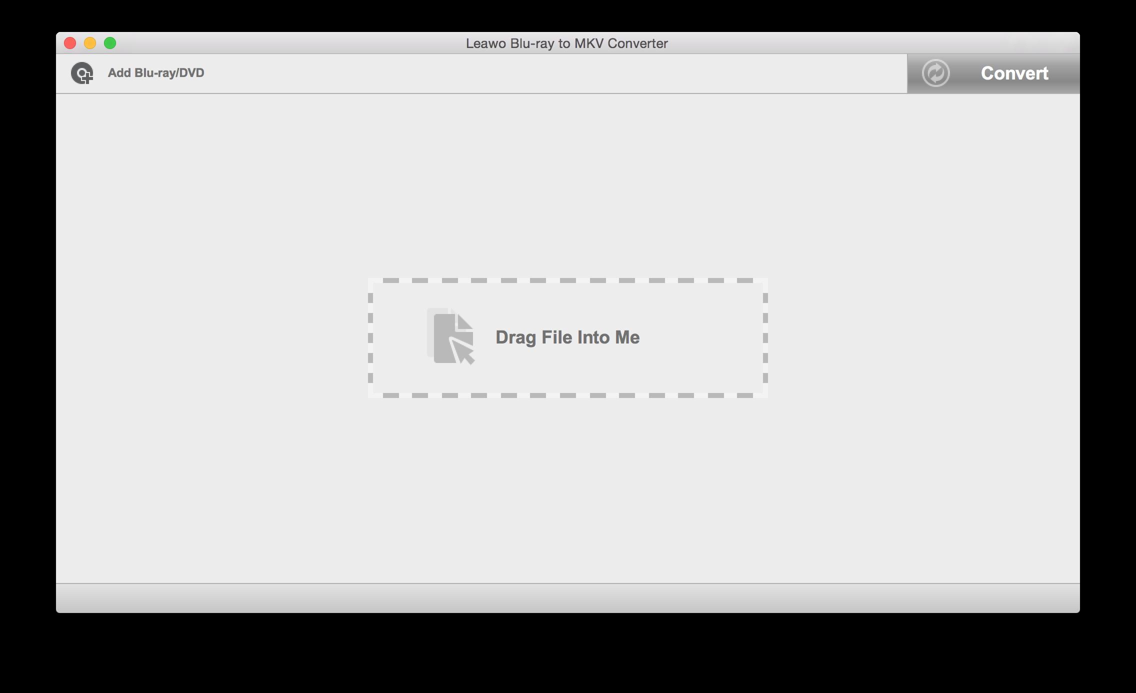 Launch Leawo Blu-ray to MKV Converter for Mac