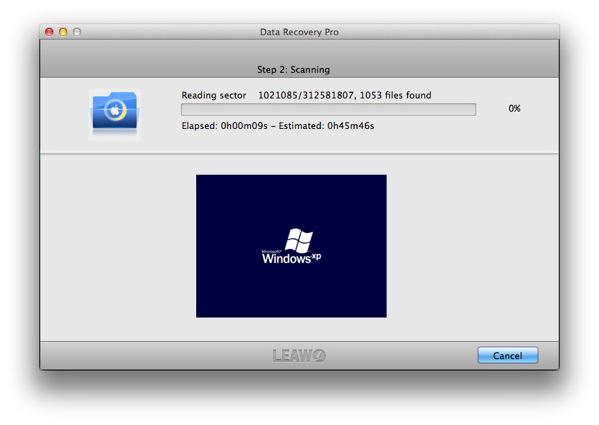 Recover deleted files Mac