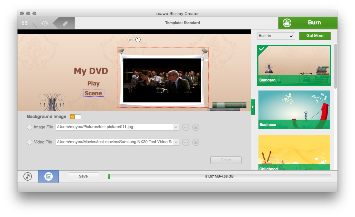 Dvd Burner Mac Burn Tv Shows To Dvd On Mac Leawo Tutorial Center Screenshots  Formats