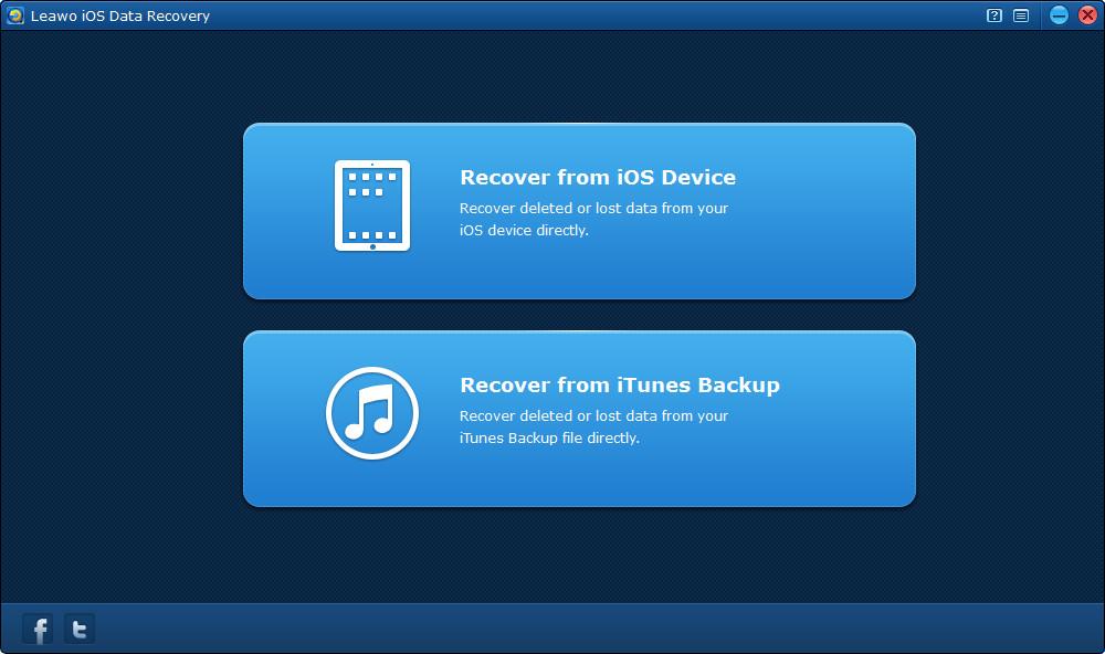 """Leawo iOS Data Recovery – iOS 设备数据恢复软件丨""""反""""斗限免"""