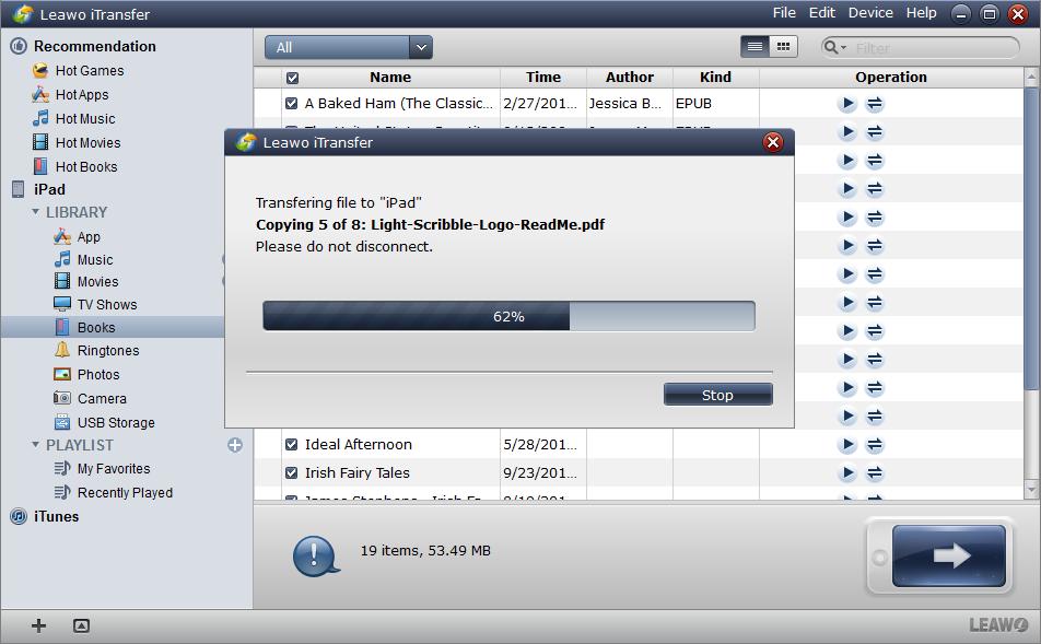 Transferring PDF Files to iPad