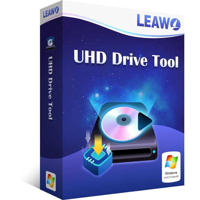 Leawo UHDドライブツール