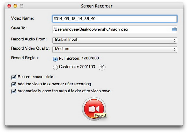 A screen recorder for Mac to meet your needs