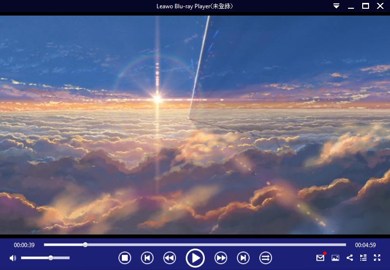 Leawo Blu-ray Playerで再生する方法