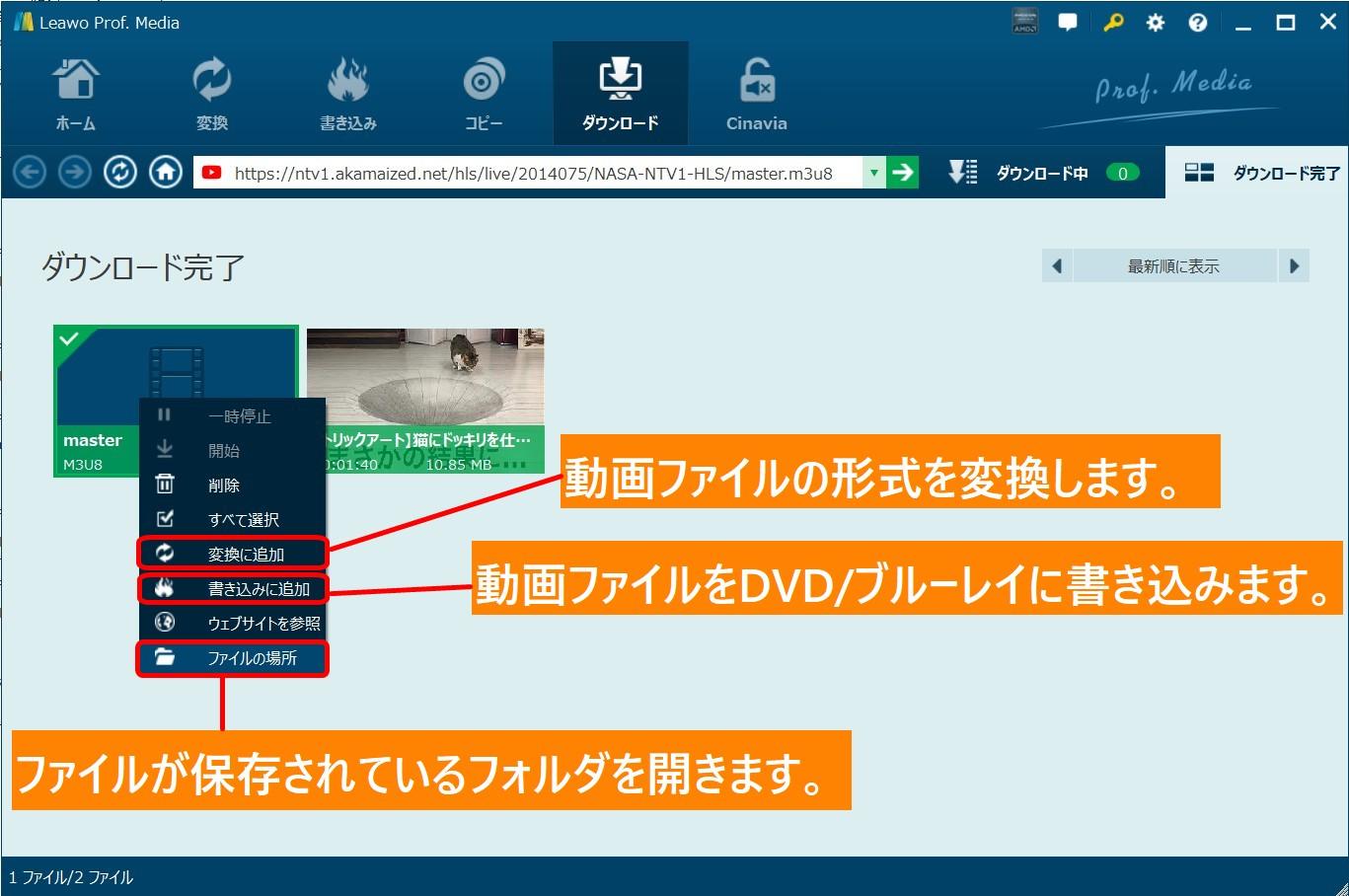 TVer-ダウンロード