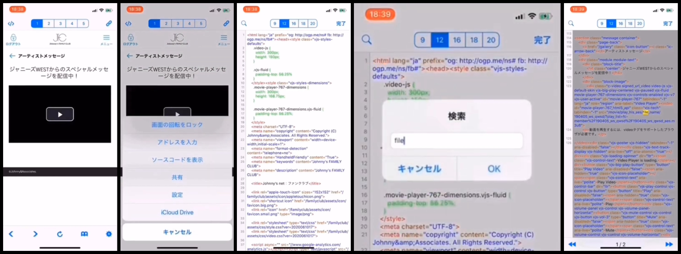 FC動画-iPhone-保存