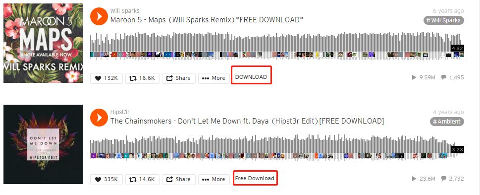 Free-Downloadを入力