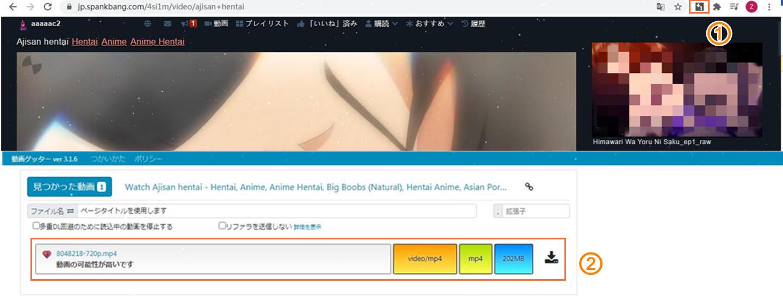 動画ゲッターを使って動画をダウンロードする方法