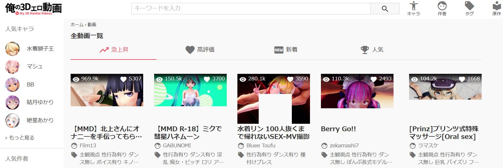 俺の3Dエロ動画