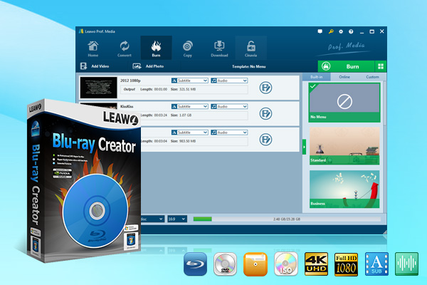 Leawo Blu-ray Creator 7.9.0.0