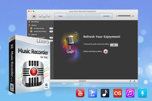 Leawo Music Recorder for Mac 3.0.1