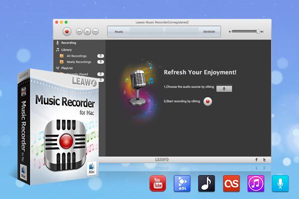 Leawo Music Recorder for Mac full screenshot
