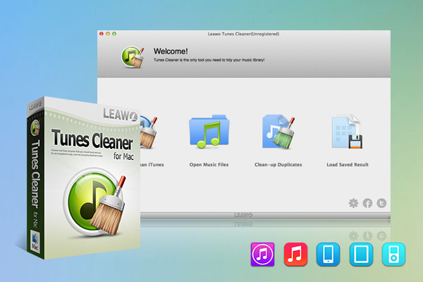 Leawo Tunes Cleaner for Mac full screenshot