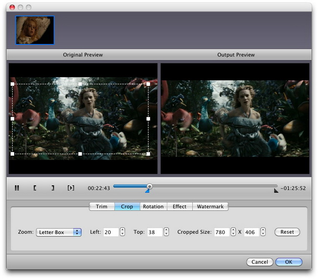 How to crop video size on Mac | Leawo Support Center