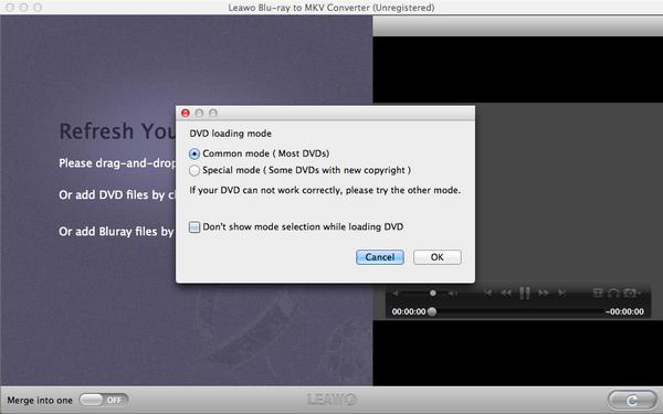 dvd-loading-mode-menu