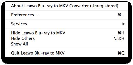 leawo-blu-ray-to-mkv-menu