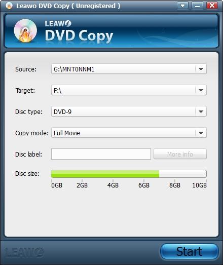 leawo-dvd-copy-settings